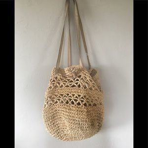 Handbags - Woven Flea Market/Beach Bag